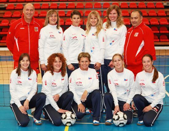 Reprezentační nohejbalový tým žen